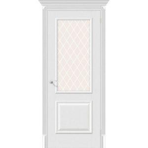 Межкомнатная дверь Классико-13 (Virgin, остеклённая)