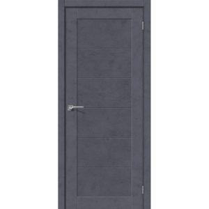 Межкомнатная дверь Легно-21 (Graphite Art, глухая)