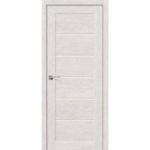 Межкомнатная дверь Легно-22 (Chalet Blanc, остеклённая)