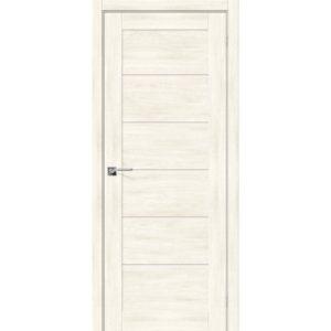 Межкомнатная дверь Легно-22 (Nordic Oak, остеклённая)