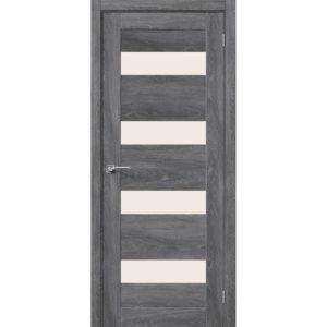 Межкомнатная дверь Легно-23 (Chalet Grasse, остеклённая)