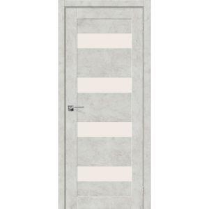 Межкомнатная дверь Легно-23 (Grey Art, остеклённая)