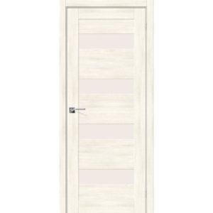 Межкомнатная дверь Легно-23 (Nordic Oak, остеклённая)