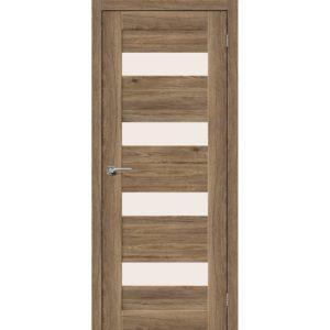 Межкомнатная дверь Легно-23 (Original Oak, остеклённая)