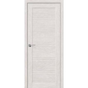 Межкомнатная дверь Легно-28 (Chalet Blanc, остеклённая)