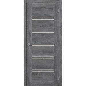 Межкомнатная дверь Легно-28 (Chalet Grasse, остеклённая)