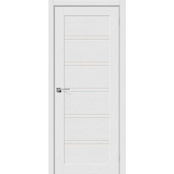 Межкомнатная дверь Легно-28 (Virgin, остеклённая)