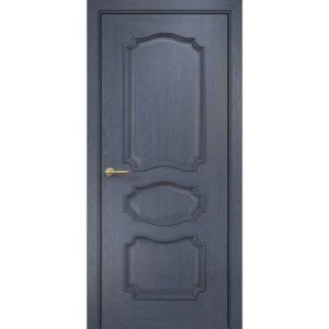 Межкомнатная дверь Оникс Барселона (дуб графит, глухая)
