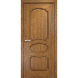 Межкомнатная дверь Оникс Барселона (дуб золотистый, глухая)