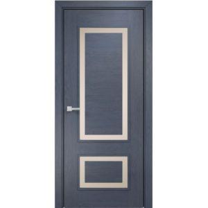 Межкомнатная дверь Оникс Премиум (дуб графит, глухая)