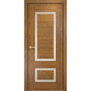 Межкомнатная дверь Оникс Премиум (дуб золотистый, глухая)
