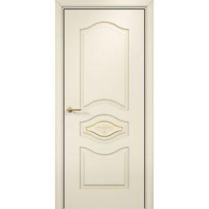 Межкомнатная дверь Оникс Сицилия (эмаль слоновая кость, глухая)