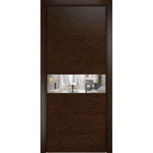 Межкомнатная дверь Оникс Соло (пангар, остеклённая)
