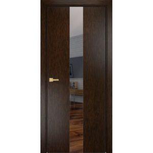 Межкомнатная дверь Оникс Соната (пангар, остеклённая)