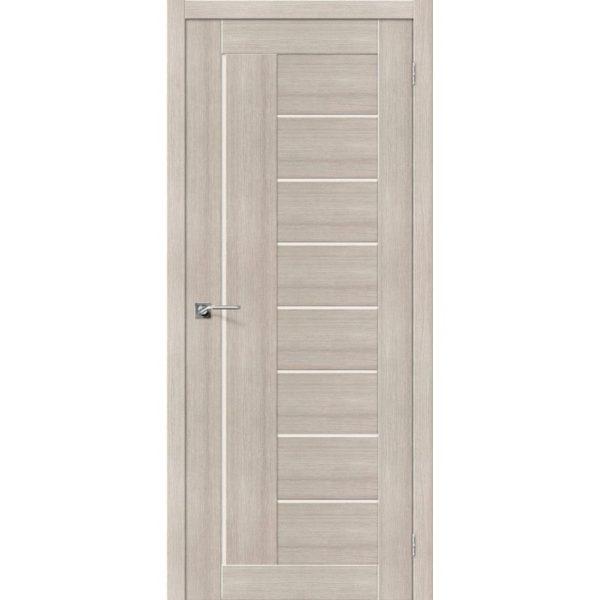 Межкомнатная дверь Порта-29 (Cappuccino Veralinga, остеклённая)