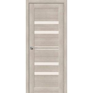 Межкомнатная дверь Порта-30 (Cappuccino Veralinga, остеклённая)