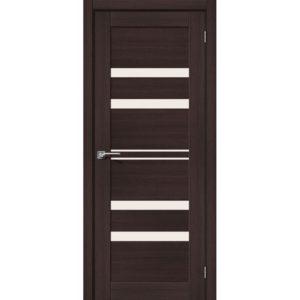 Межкомнатная дверь Порта-30 (Wenge Veralinga, остеклённая)