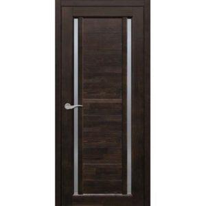 Межкомнатная дверь Старая Артель Дуэт (венге, остеклённая)