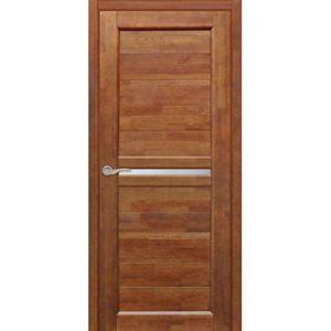 Межкомнатная дверь Старая Артель Муза (орех золотистый, остеклённая)
