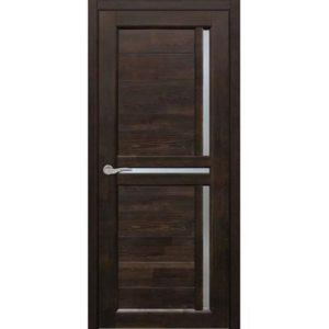 Межкомнатная дверь Старая Артель Олимп (венге, остеклённая)