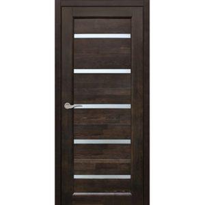 Межкомнатная дверь Старая Артель Премьера (венге, остеклённая)