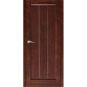 Межкомнатная дверь Старая Артель Соната (орех темный, глухая)