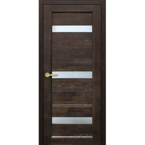 Межкомнатная дверь Старая Артель Триумф (венге, остеклённая)