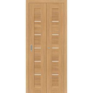 Складная межкомнатная дверь Порта-22 (Anegri Veralinga, остеклённая)