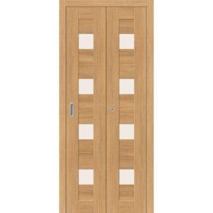 Складная межкомнатная дверь Порта-23 (Anegri Veralinga, остеклённая)
