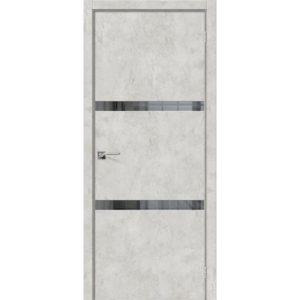 Межкомнатная дверь Порта-55 4AF (Grey Art, остеклённая)