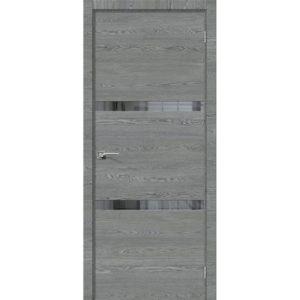 Межкомнатная дверь Порта-55 4AF (West Skyline, остеклённая)