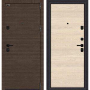 Входная дверь Porta M П50.П50 (brownie, nord skyline)