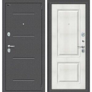 Входная дверь Porta S 104.К32 (антик серебро, бьянко вералинга)