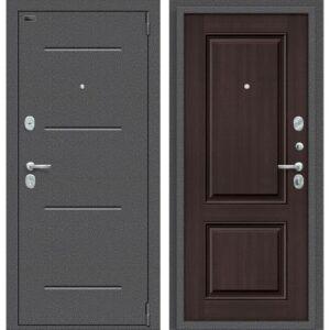 Входная дверь Porta S 104.К32 (антик серебро, венге вералинга)
