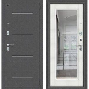 Входная дверь Porta S 104.П61 (антик серебро, bianco veralinga)