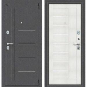 Входная дверь Porta S 109.П29 (антик серебро, бьянко вералинга)