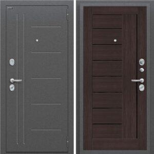 Входная дверь Porta S 109.П29 (антик серебро, венге вералинга)