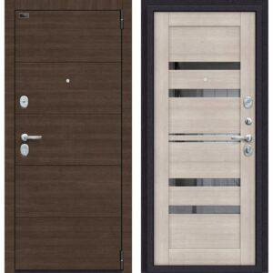 Входная дверь Porta S 4.П30 (brownie, cappuccino veralinga)