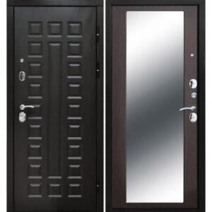Входная дверь Монарх (10 см, зеркало, венге)