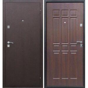 Входная дверь Сопрано (дуб шоколадный)