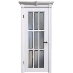 Межкомнатная дверь Safina А-16 (Белая эмаль)