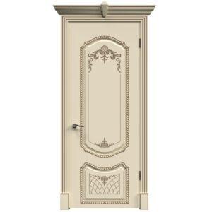 Межкомнатная дверь Safina A-6 (Слоновая кость, глухая)