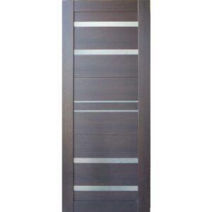 Межкомнатная дверь Аврора A-14 (Венге, остеклённая)