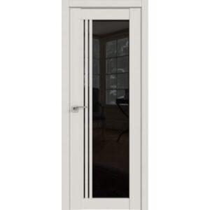 Межкомнатная дверь Аврора A-16 (Белёный дуб, остеклённая)