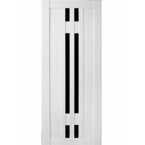 Межкомнатная дверь Аврора A-4 (Эшвайт, остеклённая)
