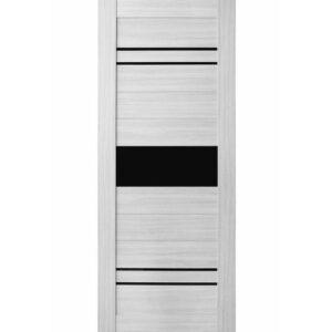 Межкомнатная дверь Аврора A-7 (Эшвайт, остеклённая)