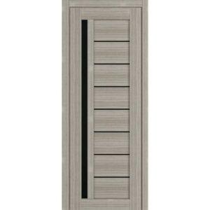 Межкомнатная дверь Аврора D-13 (Белёный дуб, остеклённая)