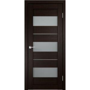 Межкомнатная дверь Аврора D-14 (Венге, остеклённая)