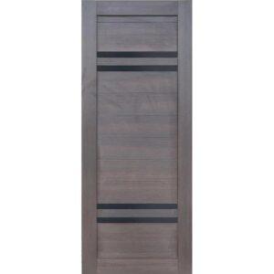 Межкомнатная дверь Аврора D-17 (Венге, остеклённая)