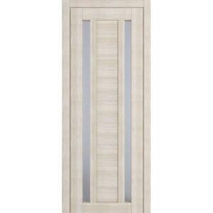 Межкомнатная дверь Аврора D-2 (Белёный дуб, остеклённая)